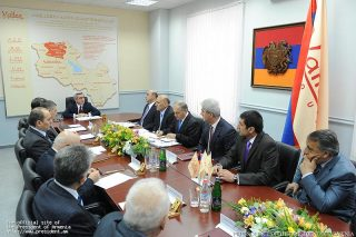 President Serzh Sargsyan Held A Meeting With Top Managers Of Mining Companies Of Armenia