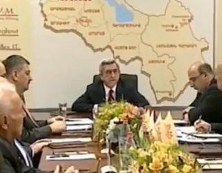 Նախագահ Սերժ Սարգսյանը հանդիպել է Հայաստանի հանքարդյունաբերական ընկերությունների ղեկավարների հետ